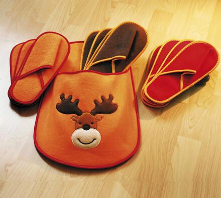 Domácí pantofle sobík