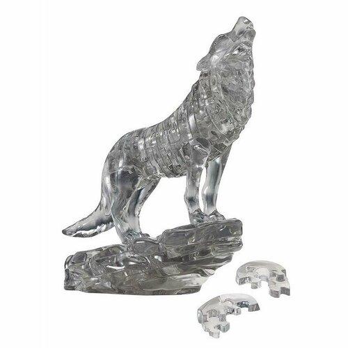 HCM Kinzel 3D Crystal puzzle Vlk, 37 dielikov