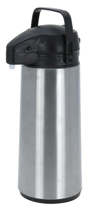 Termoska s pumpou Silver 1,9 l