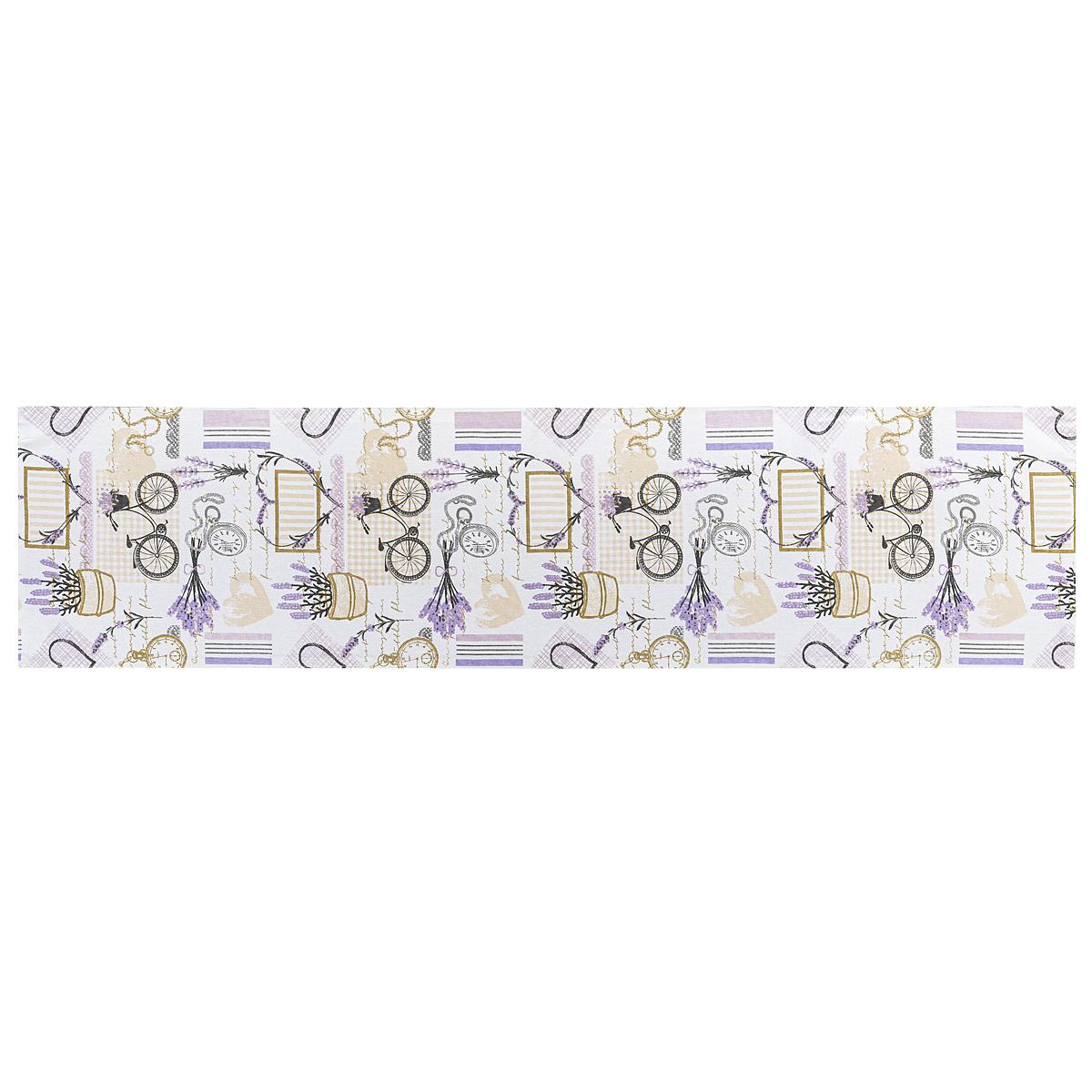 4Home Bieżnik Lavender, 33 x 130 cm
