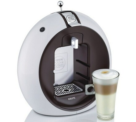 Espresso, Dolce Gusto, Krups KP 5002 Circolo, Nesc, bílá + hnědá, 31 x 19,5 x 31,5 cm