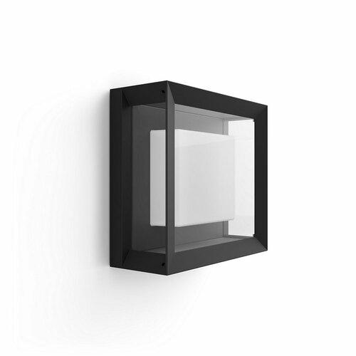 Philips Hue 17438/30/P7 vonkajšie LED svietidlo Econic, čierna