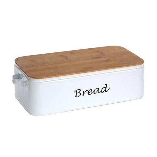 Altom Chlebník s bambusovým víkem Bread 42 x 23 x 13 cm