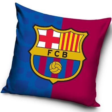 Polštářek FC Barcelona Erb, 40 x 40 cm