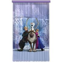 Detský záves Ľadové kráľovstvo Frozen, 140 x 245 cm