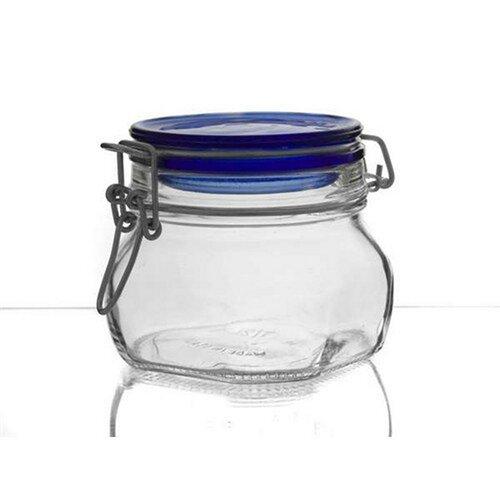 Banquet Fido Csatos üveg tárolódoboz, 0,5 l