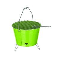 Grill kompaktowy Bucket, zielony