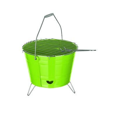 Kompaktní gril Bucket, zelená