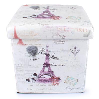 Skládací sedací box Sladká Francie