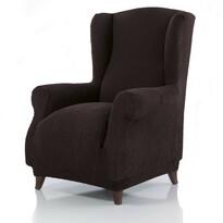 Pokrowiec multielastyczny na fotel Uszak Cagliari brązowy, 70 - 100 cm