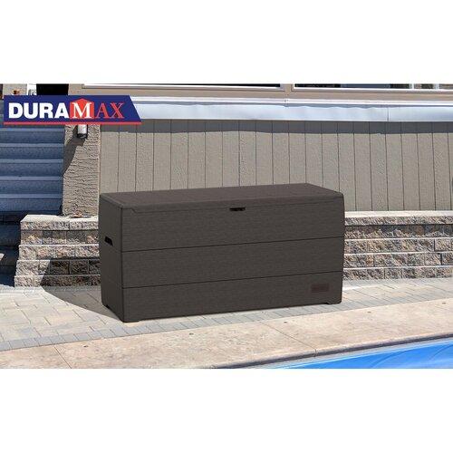 Duramax Záhradný úložný box hnedá, 270 l