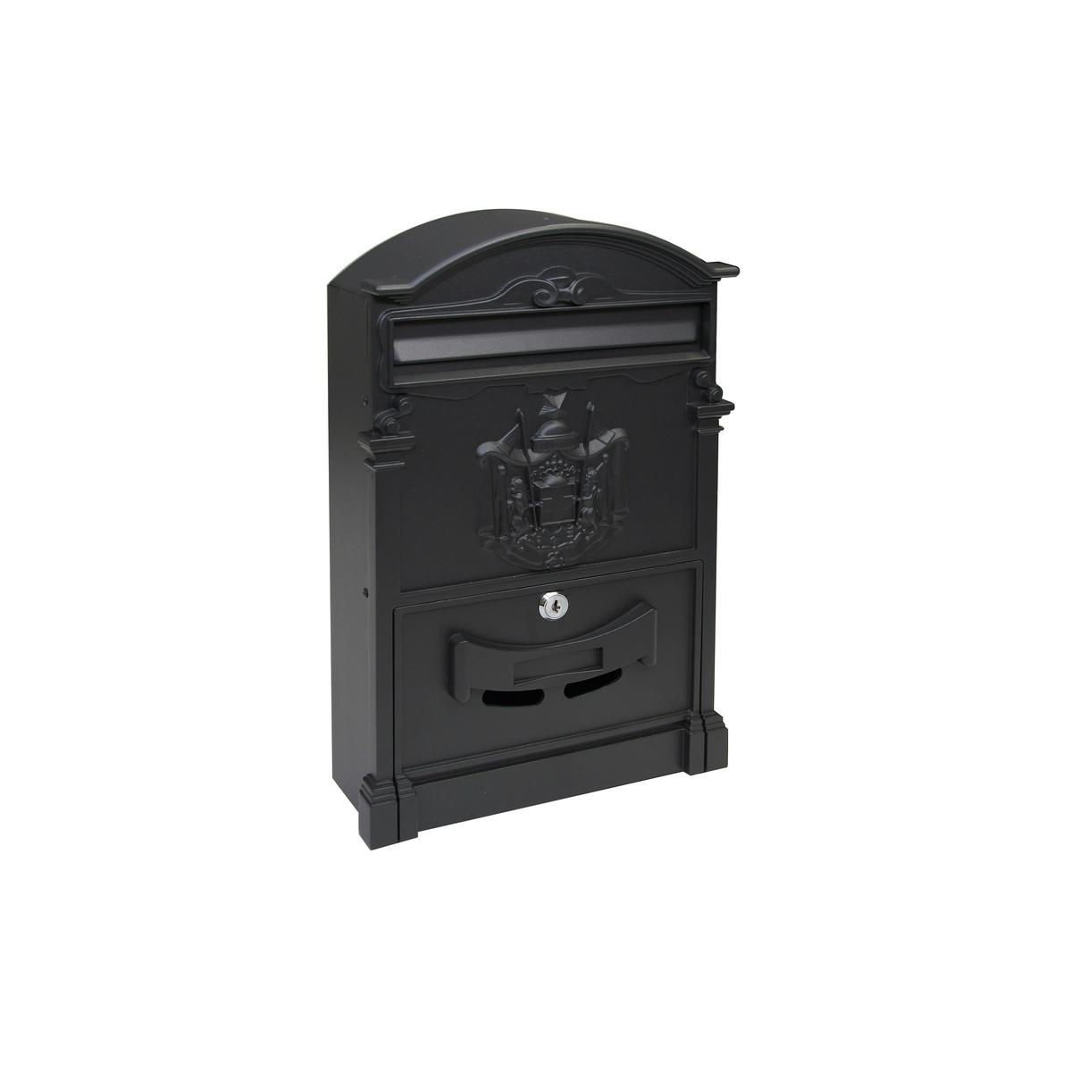 Poštová schránka RICHTER BK301 , ČERNÁ prášková