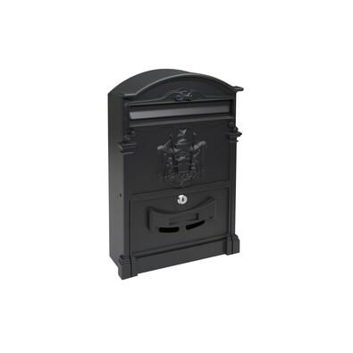 Poštovní hliníková schránka Vintage, černá