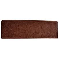 Covoraș pentru scări Eton, oval, maro, 24 x 65 cm