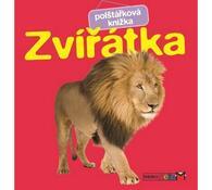Polštářková knížka Zvířatka, vícebarevná
