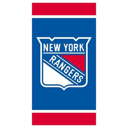 NHL New York Rangers törölköző, 70 x 140 cm