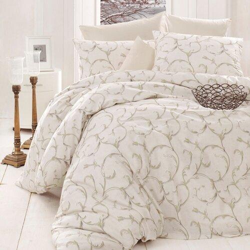 Bedtex povlečení bavlna Mabel Krémové, 220 x 200 cm, 2 ks 70 x 90 cm