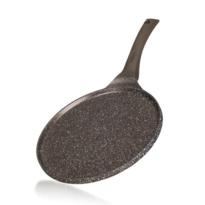 Banquet Panvica na palacinky s nepriľnavým povrchom Granite Dark Brown 26 cm