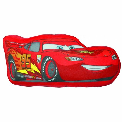 CTI 3D polštářek Blesk McQueen Cars, 38 cm
