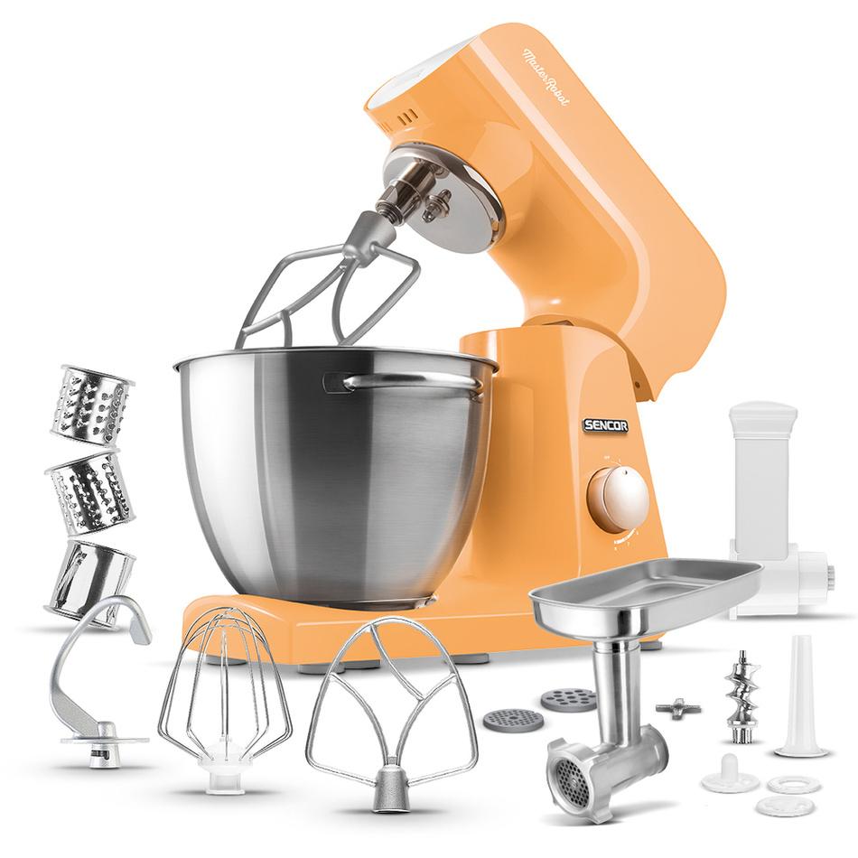 Sencor STM 43OR kuchynský robot, oranžová