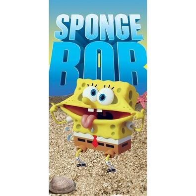 Osuška Sponge Bob mouth, 70 x 140 cm