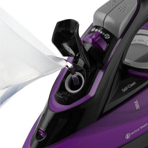 Sencor SSI 9000BK naparovacie žehlička, fialová