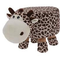 Taburet pentru copii Girafă, 44 x 28 x 24 cm