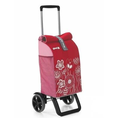 Nákupní taška na kolečkách Rolling Thermo červená