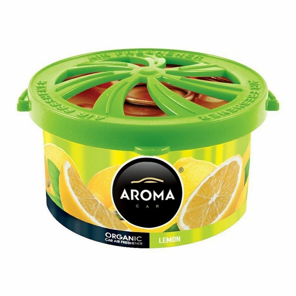 Odświeżacz Aroma Car Organic cytryna, 40 g