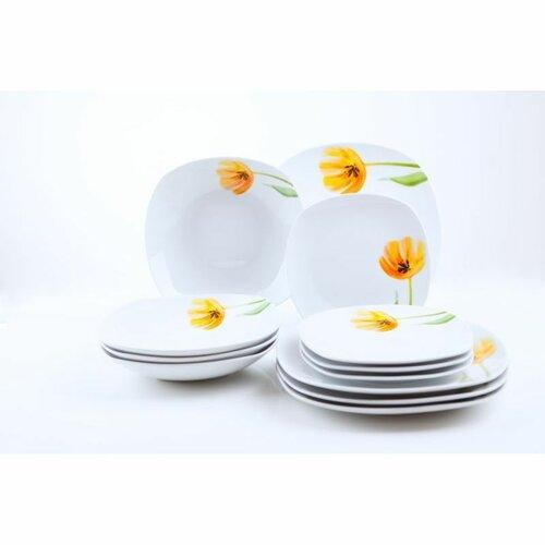 Domestic 12dílní jídelní sada Tulip 993800