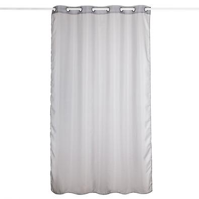 Záclona Hannah šedá, 140 x 240 cm