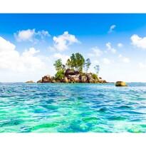 Fototapeta XXL Wyspa 360 x 270 cm, 4 części