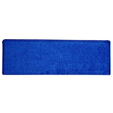 Eton téglalap lépcsőszőnyeg, kék, 24 x 65 cm