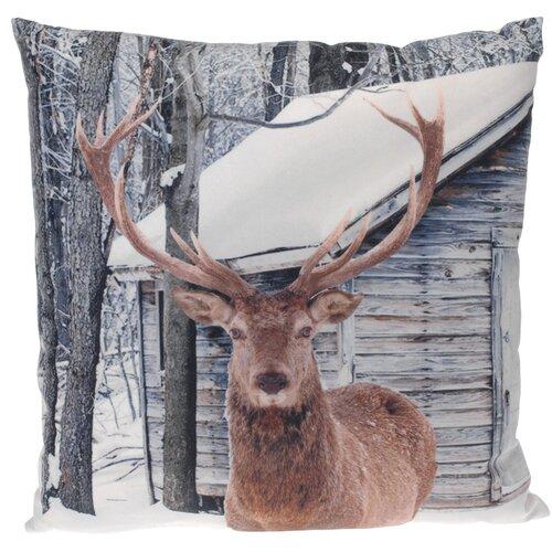 Dekorační polštářek Deer, 45 x 45 cm