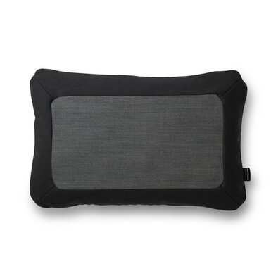 Polštářek Frame 40 x 60 cm, tmavě šedý