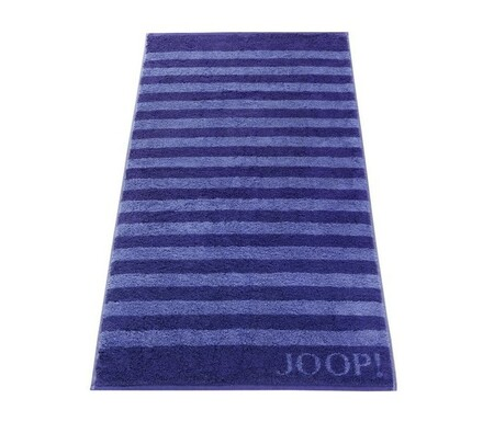 JOOP! ručník Stripes modrý, 50 x 100 cm
