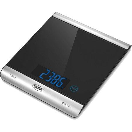 Bravo B-5176 digitální kuchyňská váha, nerez