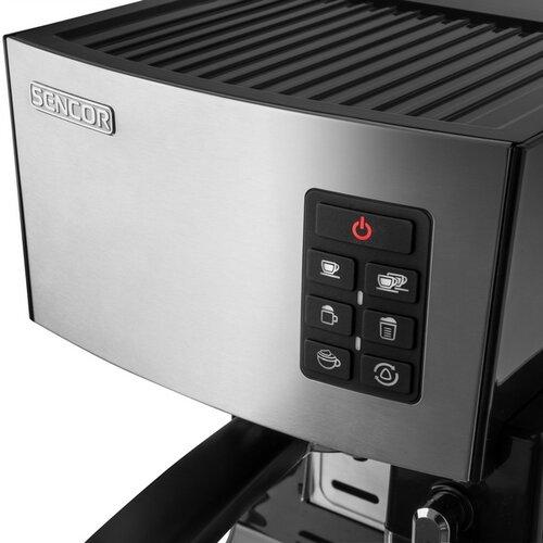 Sencor SES 4050SS espresso pákové, nerez