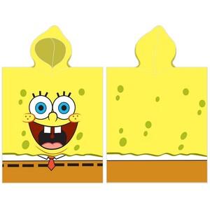 TipTrade Dětské pončo Sponge Bob, 50 x 100 cm