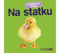 Polštářková knížka Na statku, vícebarevná