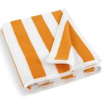 Ręcznik plażowy pomarańczowy, 100 x 150 cm