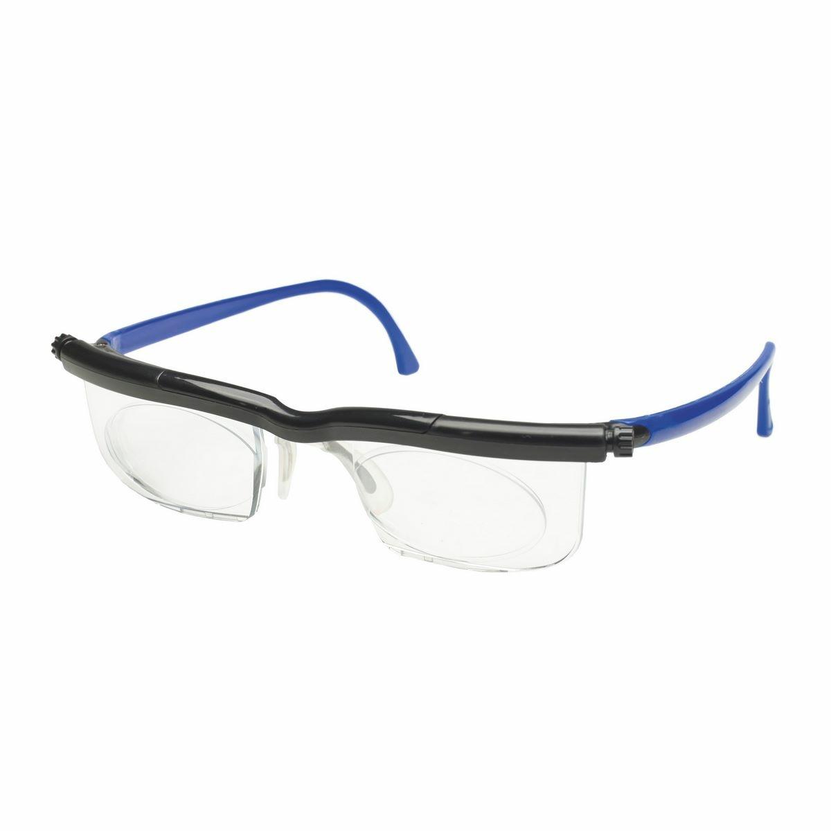 Nastavitelné dioptrické brýle Adlens, modrá