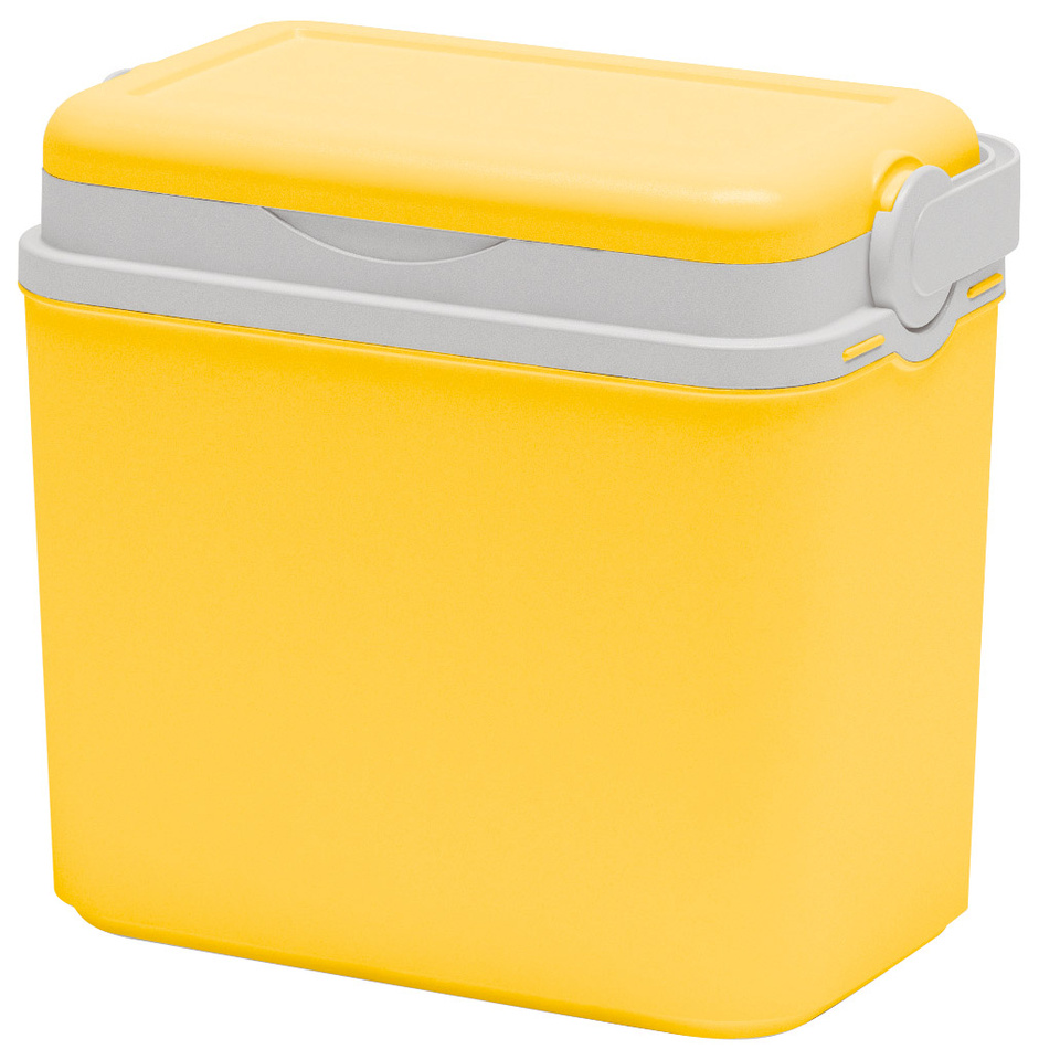 Chladicí box plast 10 l, žlutá
