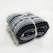 Beránková deka modrá, 150 x 200 cm