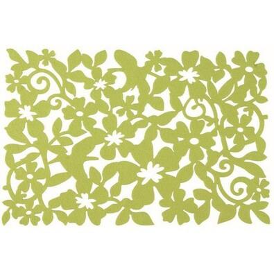 Prostírání Ambition, 45 x 30 cm, sada 4 ks, zelená