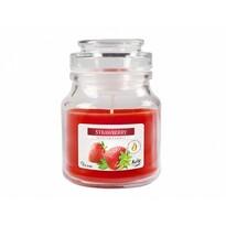 Vonná svíčka ve skle Jahoda, 120 g