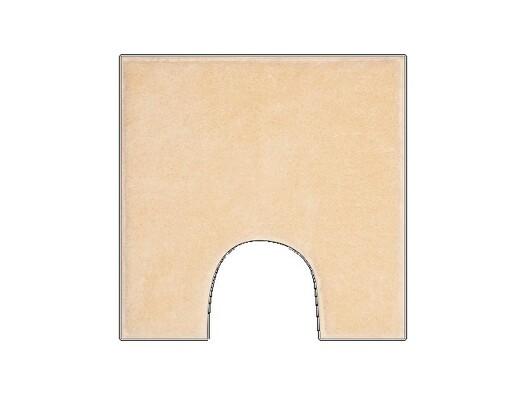 WC předložka Grund ROMAN béžová, 50 x 50 cm