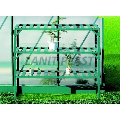 LanitPlast LanitGarden AL regál třípolicový  zelený