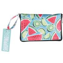 Skládací nákupní taška Tropical fruit, 37 x 50 cm
