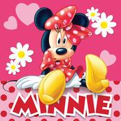 Polštářek Minnie pinkie dots, 40 x 40 cm
